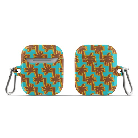 Retro Palm Pattern AirPod Case
