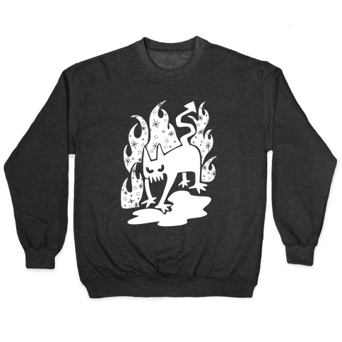 Demon Cat Pullover