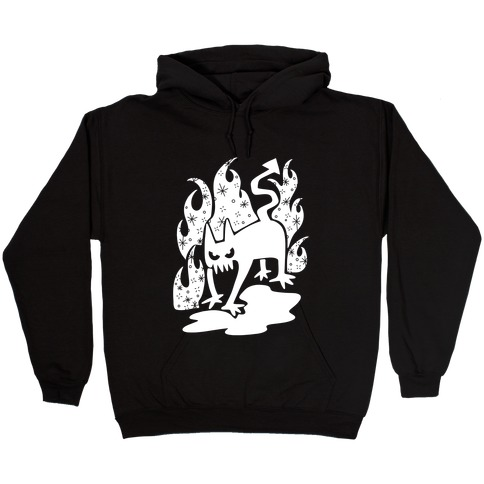 Demon Cat Hooded Sweatshirt