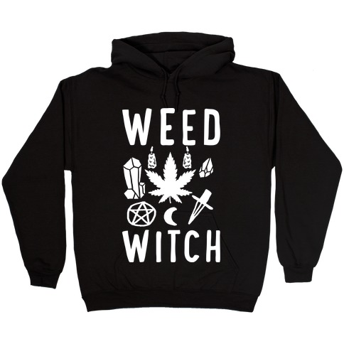 Weed Witch Hooded Sweatshirt