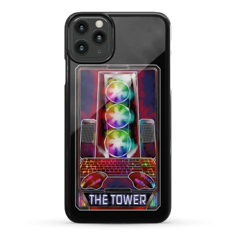 The Gaming Tower Tarot Card Phone Case