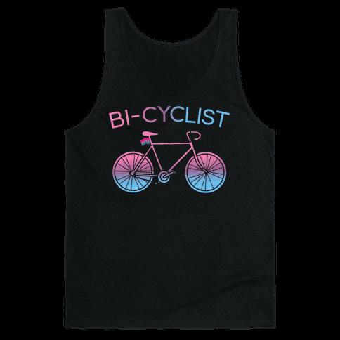 Bisexual Bi-Cyclist Tank Top