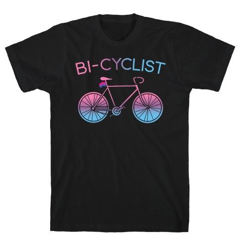 Bisexual Bi-Cyclist T-Shirt