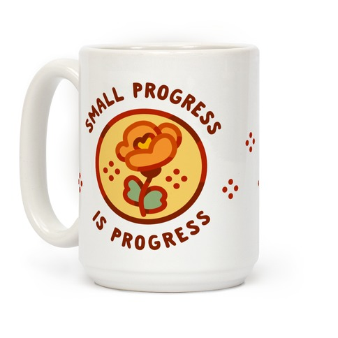 Small Progress is Progress Coffee Mug