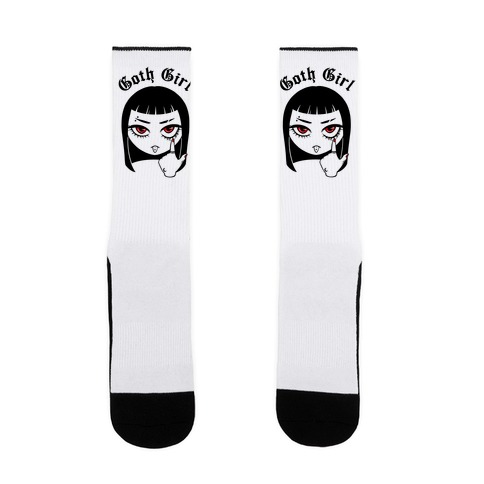 Goth Girl Sock