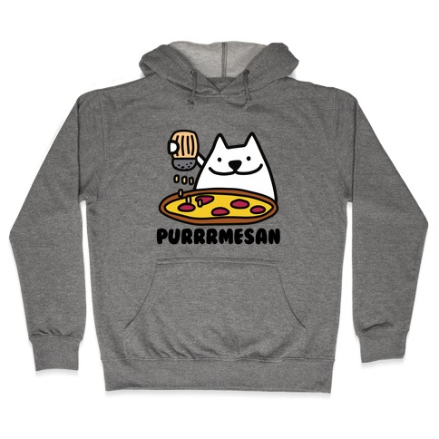 Purrrmesan Hooded Sweatshirt