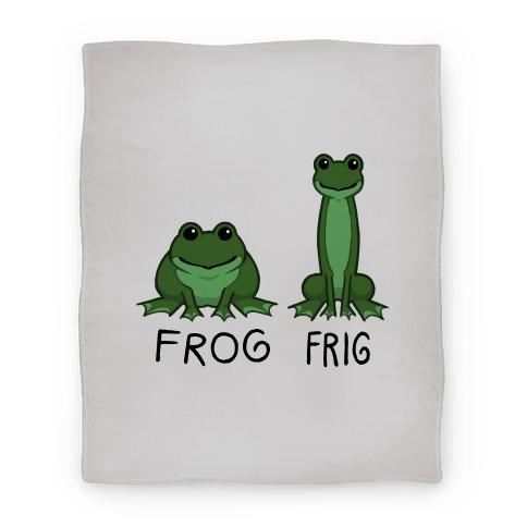 Frog, Frig Blanket