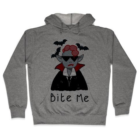 Bite Me Vampire Hooded Sweatshirt