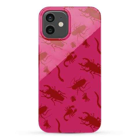 Creepy Crawly Cuties Pattern Phone Case