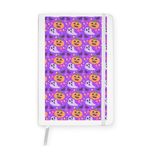 Halloween Fun Pattern Notebook