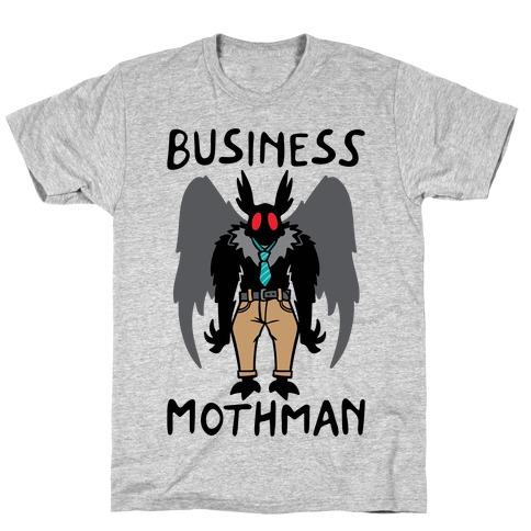 Business Mothman Parody T-Shirt
