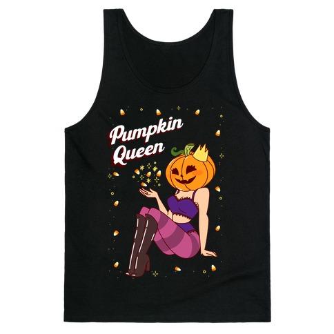 Pumpkin Queen Pin-Up Tank Top
