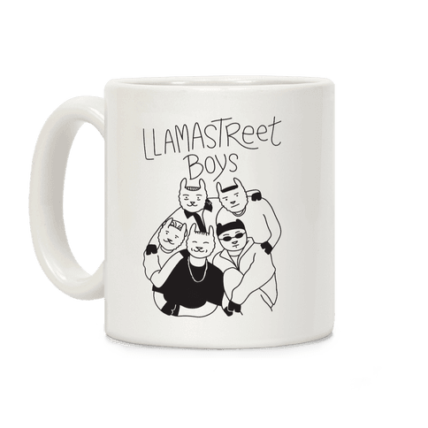Llamastreet Boys Coffee Mug