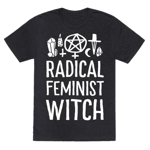 Radical Feminist Witch Mens T-Shirt