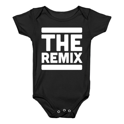 The Remix (1 of 2 pair) Baby Onesy