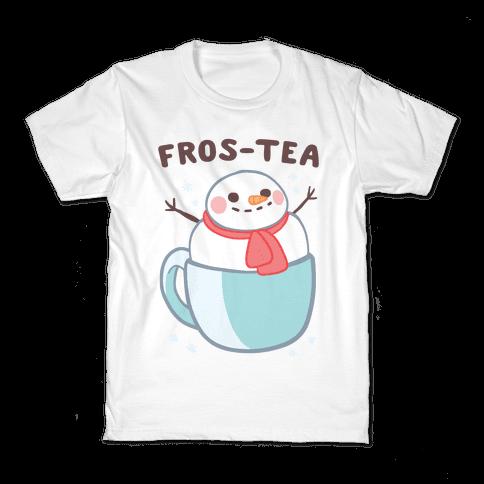 Frosty Fros-tea Kids T-Shirt