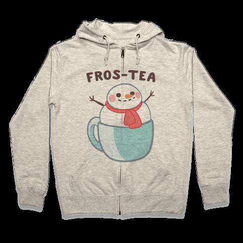 Frosty Fros-tea Zip Hoodie