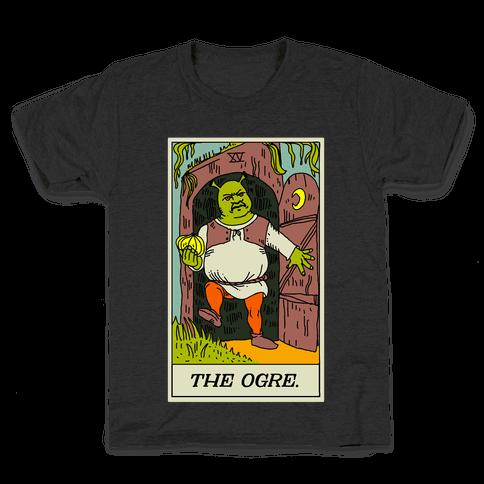 The Ogre Tarot Card Kids T-Shirt