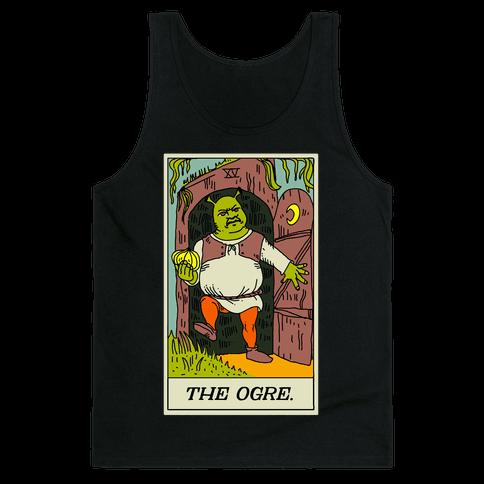 The Ogre Tarot Card Tank Top