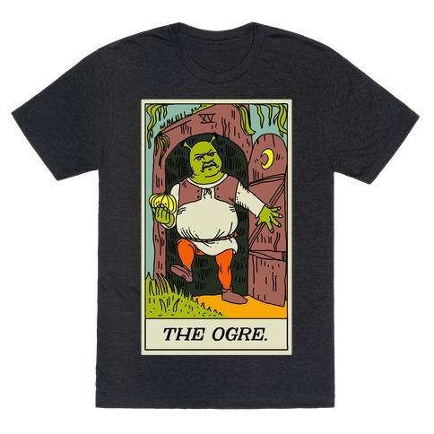 The Ogre Tarot Card T-Shirt