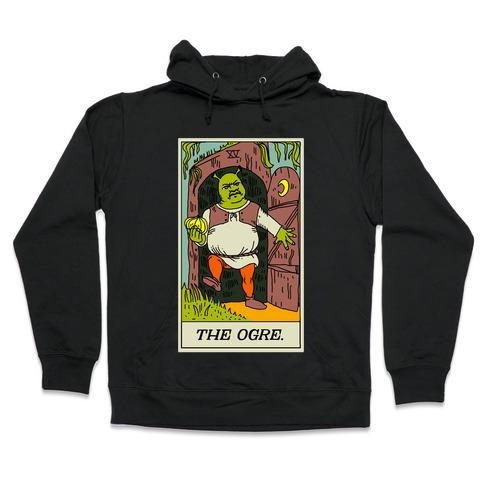 The Ogre Tarot Card Hooded Sweatshirt