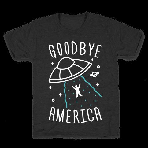 Goodbye America Kids T-Shirt