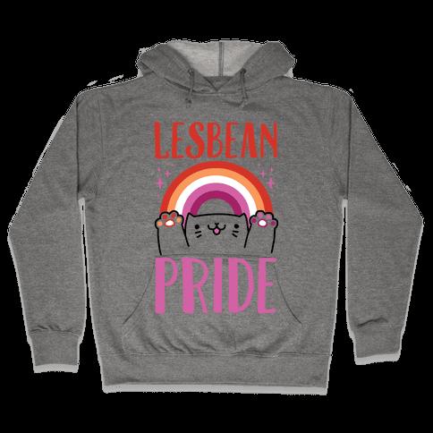 Lesbean Pride Hooded Sweatshirt