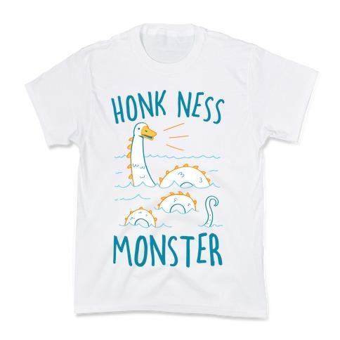 Honk Ness Monster Kids T-Shirt