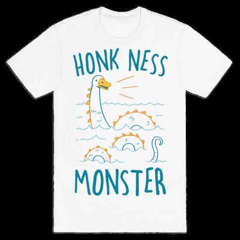 Honk Ness Monster Mens/Unisex T-Shirt