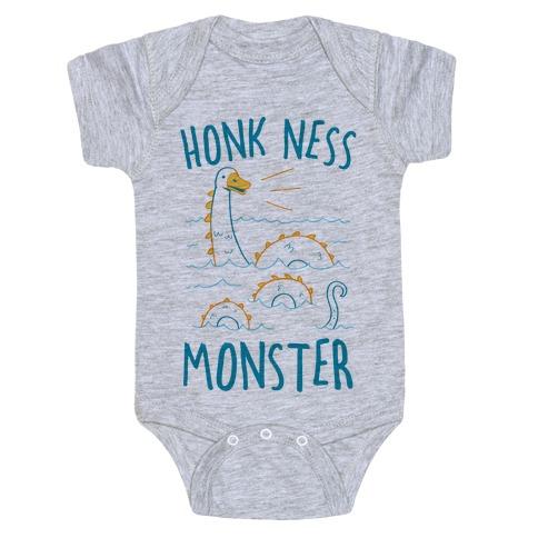 Honk Ness Monster Baby Onesy