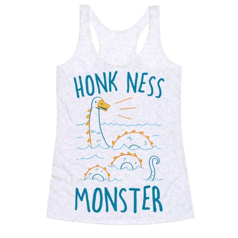 Honk Ness Monster Racerback Tank Top