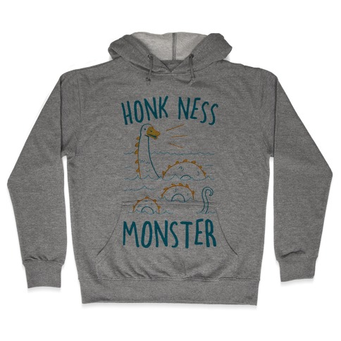 Honk Ness Monster Hooded Sweatshirt