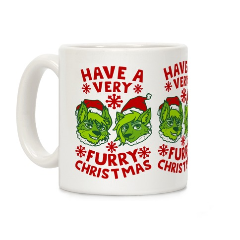 Have A Very Furry Christmas Coffee Mug