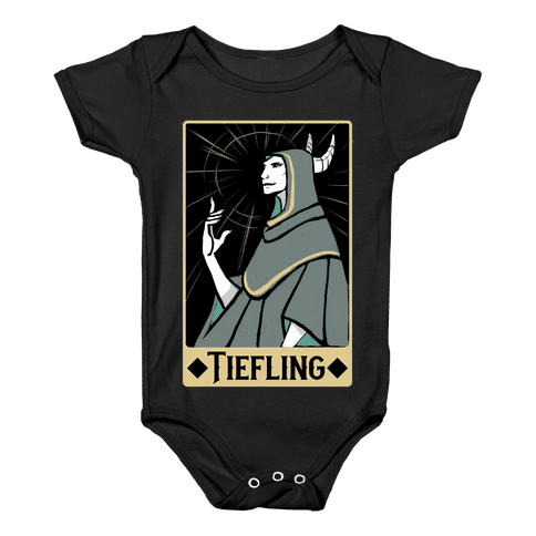 Tiefling - Dungeons and Dragons Baby Onesy