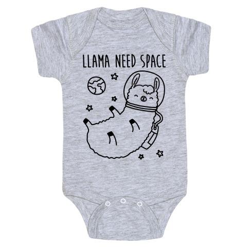 Llama Need Space Parody  Baby Onesy