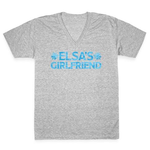 Elsa's Girlfriend V-Neck Tee Shirt