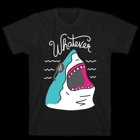 Whatever Shark Mens T-Shirt