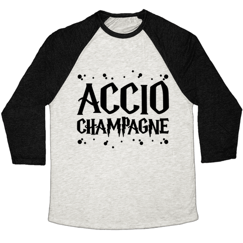 Accio Champagne Baseball Tee
