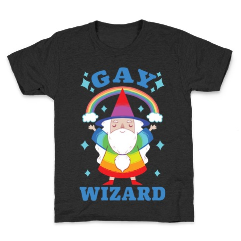 Gay Wizard Kids T-Shirt