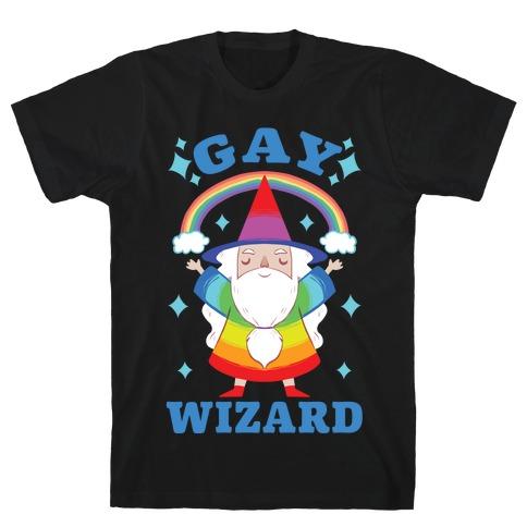 Gay Wizard T-Shirt