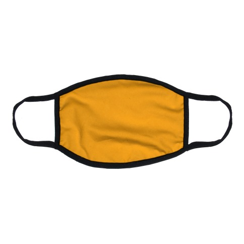 Saffron Flat Face Mask