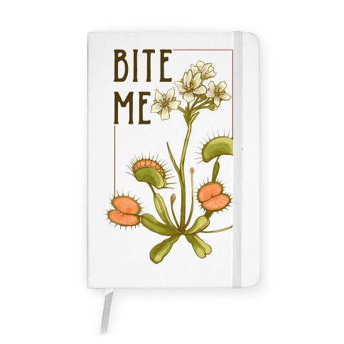 Bite Me Venus Flytrap Notebook