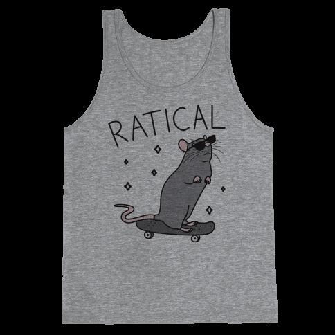 Ratical Rat Tank Top