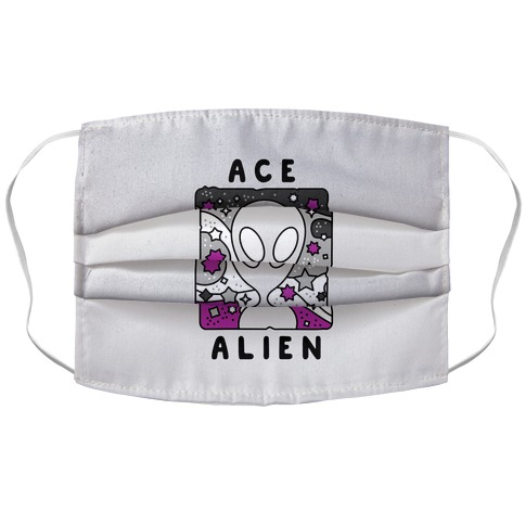 Ace Alien Accordion Face Mask