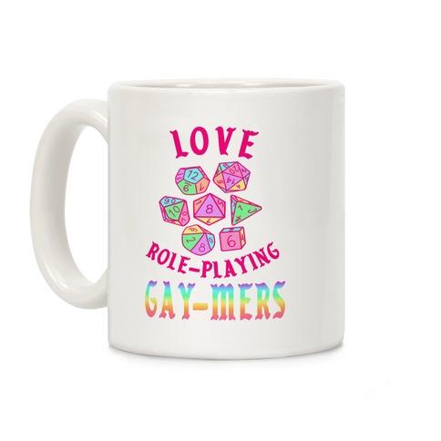 Love Role-Playing Gay-Mers Coffee Mug