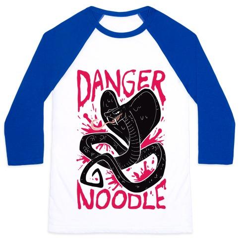 Danger Noodle Baseball Tee