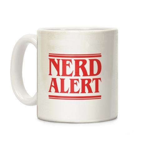 Nerd Alert - Stranger Things Coffee Mug