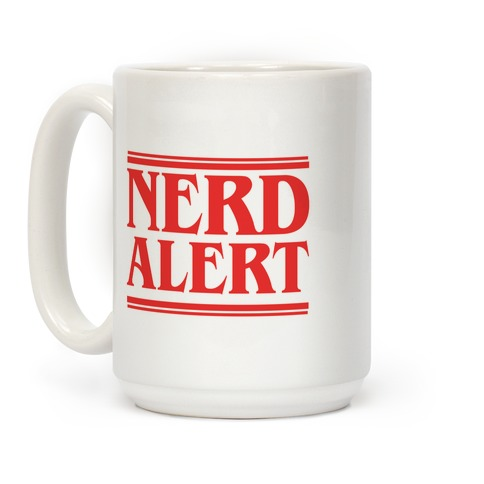 Nerd Alert - Stranger Things Coffee Mug