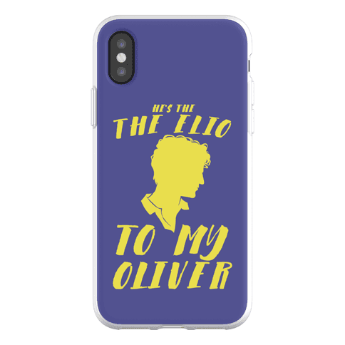He's The Elio To My Oliver Phone Flexi-Case