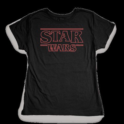 Star Wars Things Womens T-Shirt